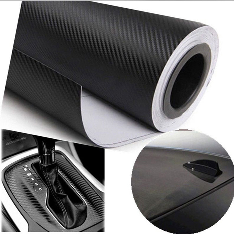 127cmx30cm 3d 3m auto carbon fiber vinyl film carbon car wrap sheet roll film paper motorcycle. Black Bedroom Furniture Sets. Home Design Ideas