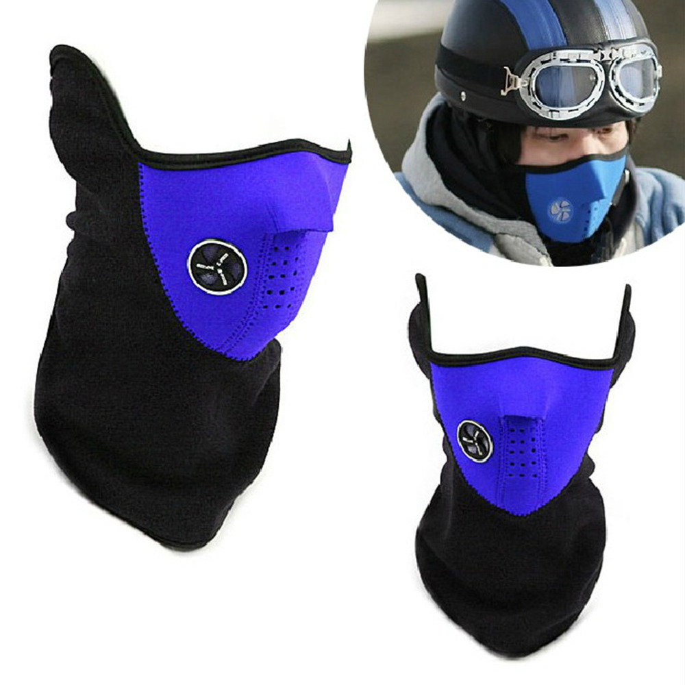 Cycling Bicycle Motorcycle Riding Face Mask Outdoor Sports Ski Snowboard Carbon Protective Filter Thermal Windproof Face Mask(China (Mainland))