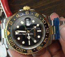 Sapphire 40 MM inoxidable Men 's 40 MM R0LEs reloj para hombre reloj de hombre 40 MM cerámica watch11660 0147