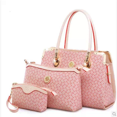 2015 Luxury women designer handbags high quality brand clutch wedding tote women purses and handbags Hot Selling 3 Pieces/Set(China (Mainland))