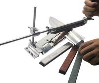 NEW Profession Kitchen Sharpening Scissor Knife Blade Sharpener System+4 Stones  95687