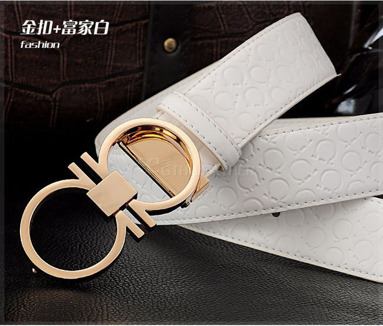2015 fashion brands Selling new men double lion crown buckle leather belt free shipping Automatic buckle belts(China (Mainland))