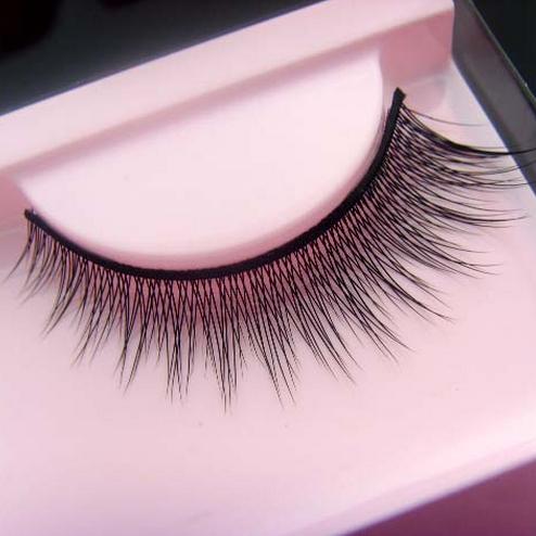 Гаджет  1 pair/pack Natural look thick cross light make up fake false eyelashes.18.17733.Free shipping None Красота и здоровье