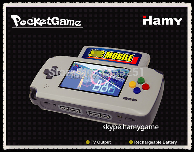 HAMY PORTABLE HANDHELD GAME PLAYER (4.3INCH LCD)(China (Mainland))