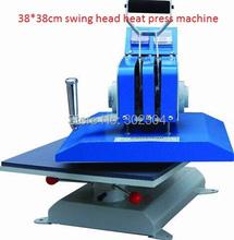 38*38cm high pressure heat press machine swing head heat transfer press