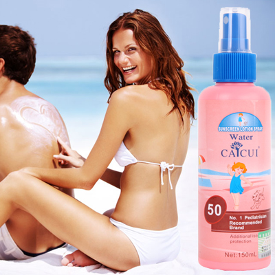 Caicui Sunscreen Spray SPF 50 + + sunscreen creams 150 ml free shipping(China (Mainland))