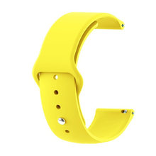 22mm/20mm banda para Samsung gear S3 frontier galaxy reloj 46mm 42mm S2 clásico activo 2 huawei gt Reloj 2 Correa pulsera de silicona(China)