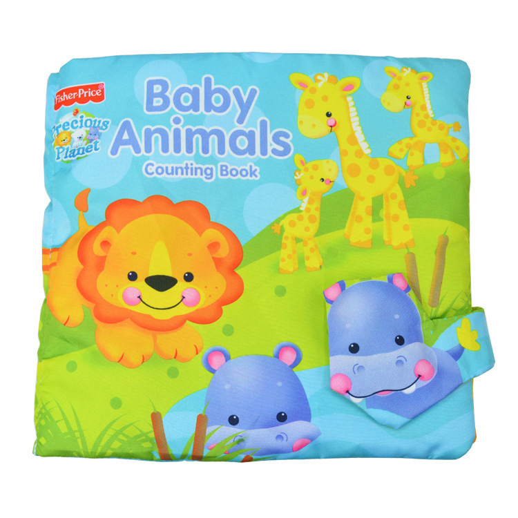 Baby Toy Infant Rainforest Cloth Book Toys Musical Doll Early Development Books Learning & Education 0-3Y -w214 - Online Store 527385 store