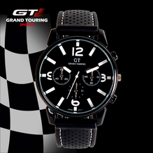 2016 Racing Men Sports Watches Luxury Brand Grand Touring GT Watch Silicone Mens Army Quartz Military Wristwatch Women Fashion