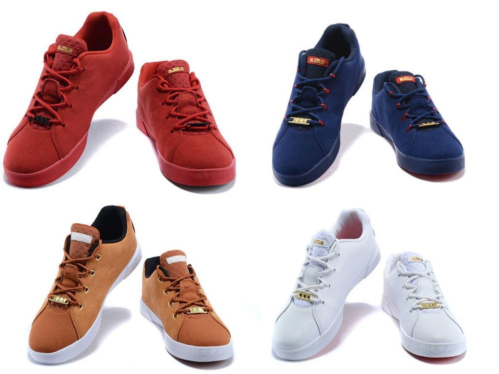 Free shipping hot sale 2015 LeBron Skateboarding shoes Lifestyle casual shoes men's size 7-12(China (Mainland))