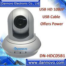 DANNOVO USB-Powered HD 1080P Video Conferencing Camera,Pan/Tilt Web Camera,Controlling Camera through USB directly,Plug & Play