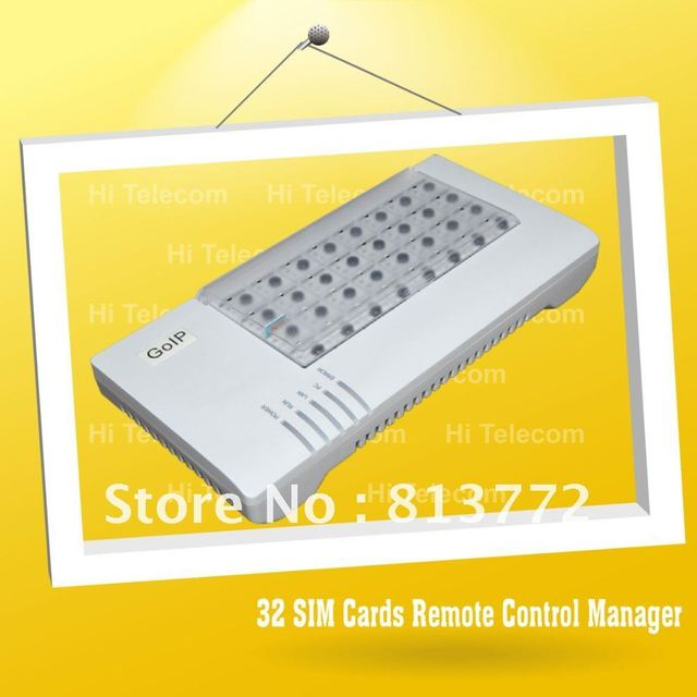 Perfect 32 Port GOIP SIM bank/Remote SIM Card Emulator,working with goip4 and goip8
