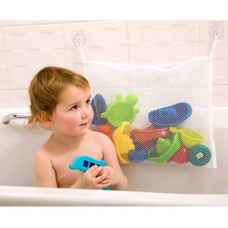 Big Baby Toys Storage Bags Creative Folding Toy Bag Bath Bathtub Bathroom Organizer 35*45CM(China (Mainland))
