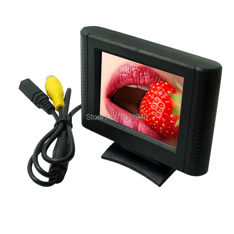 3set Digital 2.5inch Detachable RCA Video View TFT LCD Monitor For DVD Rearview Parking Sensor Camer #XSP1365(China (Mainland))