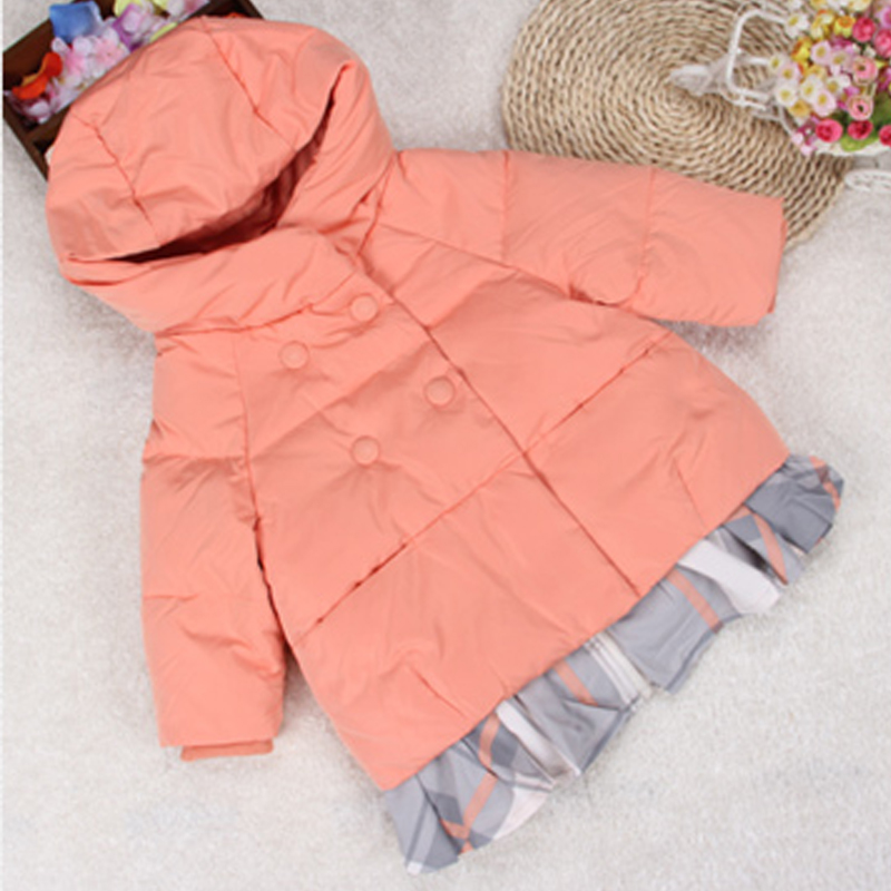 Baby Girl Down Jacket 2 Pieces Warm White Duck Inside Girls Pink Coat Baby Snowsuit Parka Jacket<br><br>Aliexpress