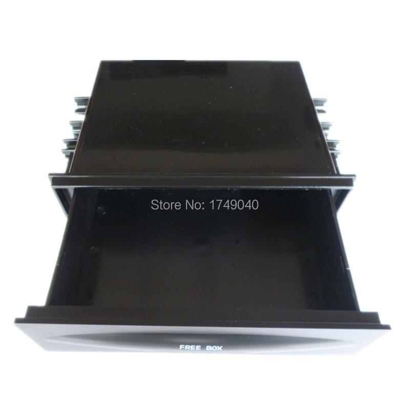Universal Car auto Single Din Dash Radio Installation Pocket Kit Storage Box CX-38 Tray CD DVD Holder Drawer.jpg
