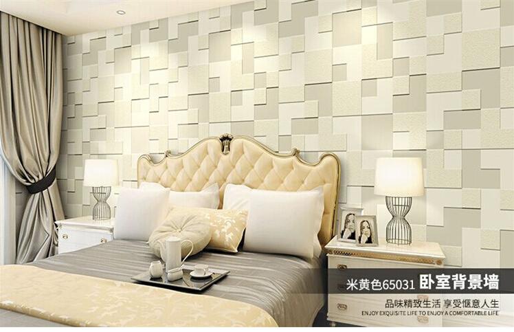 Acquista all 39 ingrosso online mattone wallpaper design per for Carta da parete per camera da letto