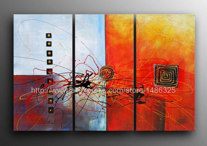 Hot sale huge modern abstract oil painting canvas art for Cheap canvas paintings for sale
