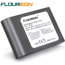 Buy FLOUREON 22.2V 2000mAh Rechargeable Battery 6-Cell Dyson DC31 DC34 DC35 17083 Handheld Li-ion Vacuum Cleaner Battery for $34.87 in AliExpress store