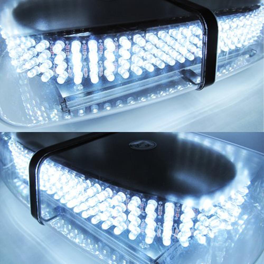 White Light Bar Roof Top Emergency Hazard Warning Flash Strobe 240 LED For Vw Golf Ford BMW Kia Opel Skoda Lada Chevrolet<br><br>Aliexpress