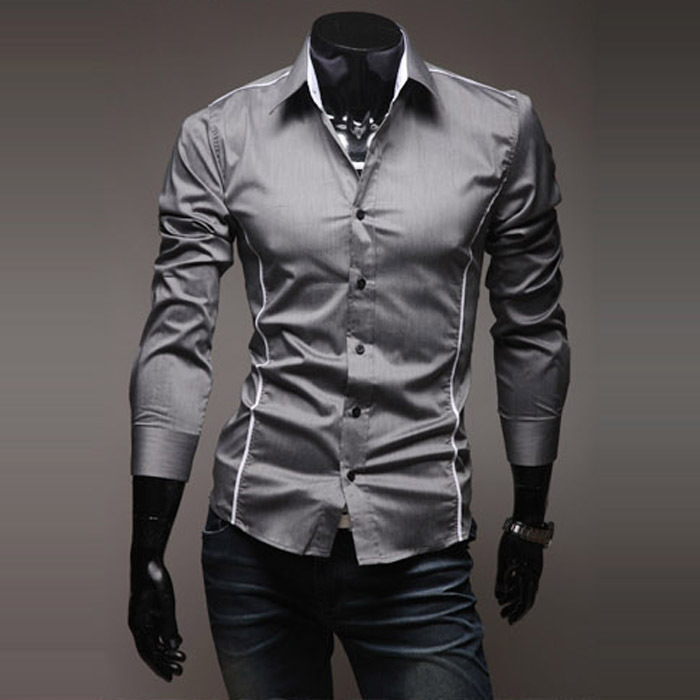 Freeshipping man shirts special offer promotion hot sale new arrival seconds kill real cotton casual shirts solid male shirt(China (Mainland))