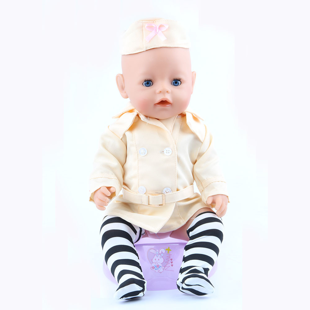43cm Zapf Baby Born Doll Clothes All kinds of style clothes children Christmas gift free shipping the doll m3000
