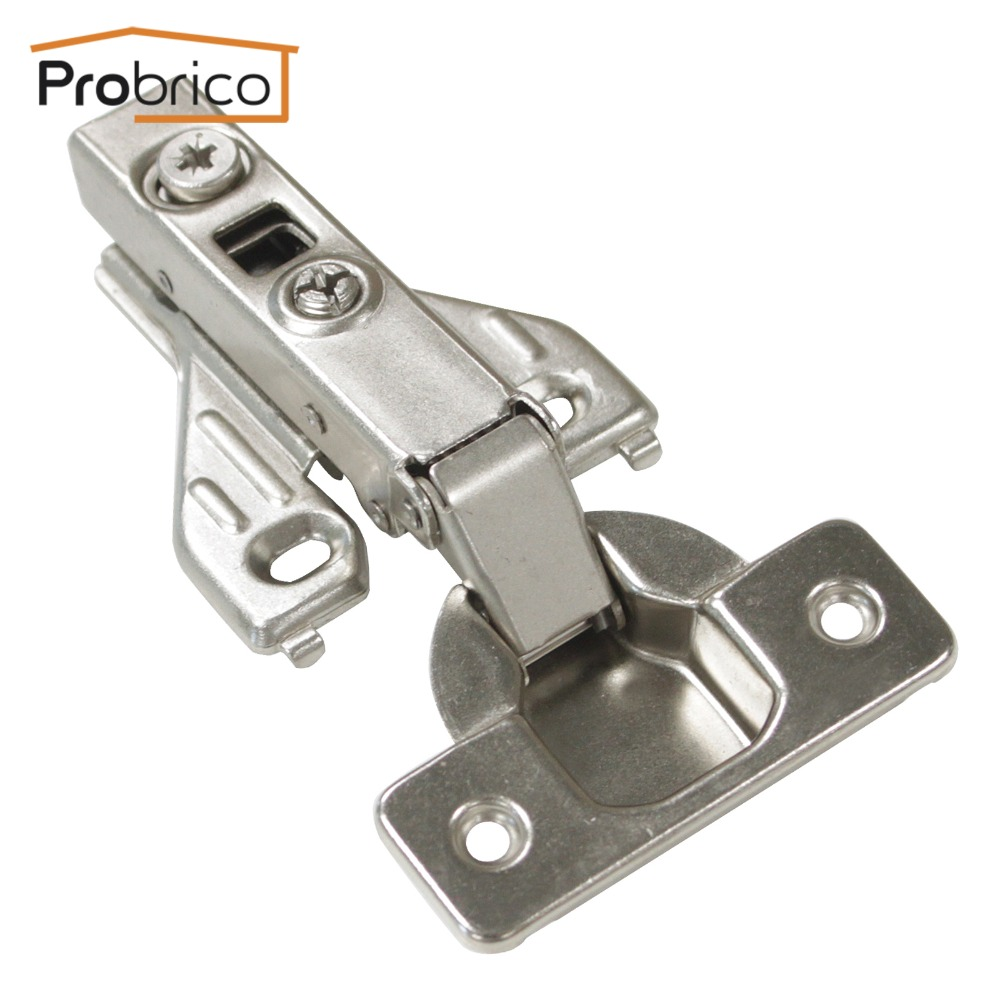 Probrico Soft Close Kitchen Face Frame Cabinet Hinge CHRH04HA Furniture Hydraulic Full Overlay Concealed Cupboard Door Hinge(China (Mainland))