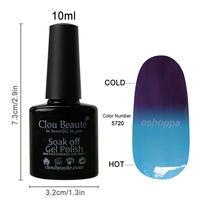 Experience 36 Colors 10ml CB 5720 Temperature Gel Polish Nail Art Printer UV Led Gel Nail Soak Off Polish Gel