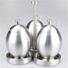 The new stainless steel seasoning cans / Pepper spice bottle sets / creative household items(China (Mainland))