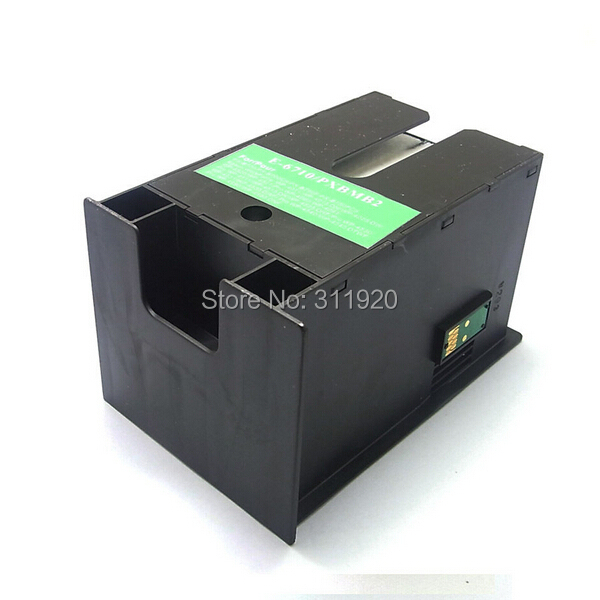 Compatible Maintenance Box T6710 for EPSON Maintenance Tank with chip For Epson WorkForce WF7110dtw WF7620 WF7610 WF3620 WF3640