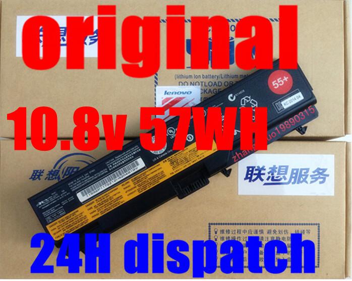 original Genuine 10.8v 57WH laptop battery FOR Lenovo E40 L512 T410 E50 E420 L520 E425 SL410 T420 E520 T510 E525(China (Mainland))