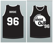 Mens Cheap Film Throwback Basketball Jerseys,Shoot Out #96 Birdie Movie Stitched Basketball Jersey Free Shipping(China (Mainland))