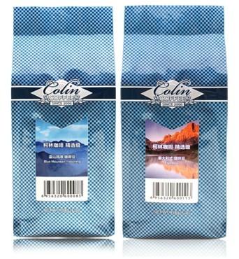 454g Colin gourmet coffee beans bags green slimming coffee beans tea