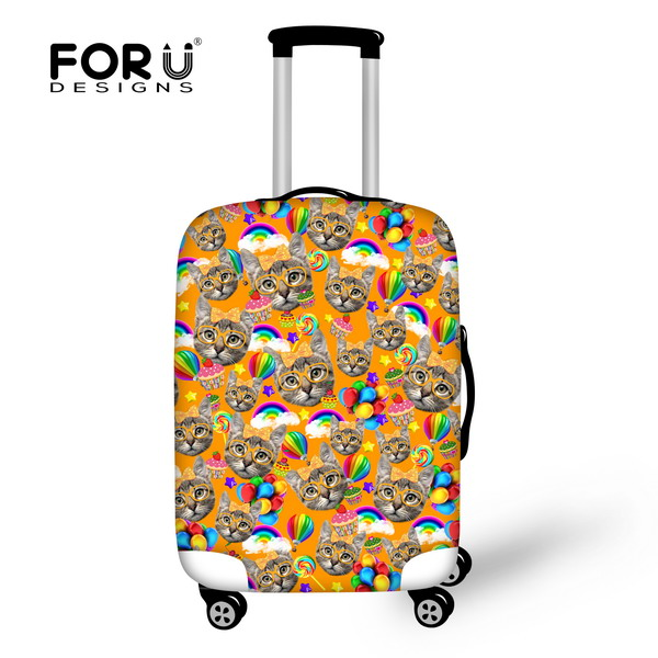 Animals Kitty Cat Travel Accessories Travel Luggage Cover Case For 18-30 inch Waterproof Suitcase Cover Protable Trolley Sets(China (Mainland))