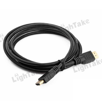 Hot sale 5pcs /lot 2M High Speed HDMI Cable for DVD LCD TV HDTV 1080P - Black