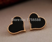 2016 hot new fashion European and American jewelry full of love drip earrings Phnom accessories(China (Mainland))