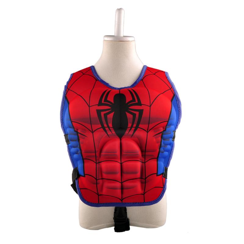 new kids life jacket vest Superman batman spiderman swimming boys girls fishing superhero swimming circle pool accessories ring(China (Mainland))