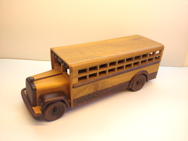 Handmade wool vintage american school bus bus model collector gift(China (Mainland))