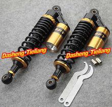 "Universal 13.5"" 340mm Suspension Air Shocks Absorber for Yamaha Honda Kawasaki Suzuki Quad Bike(China (Mainland))"