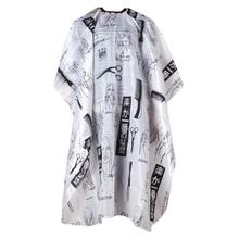 Парикмахерская Cape Стрижка Парикмахерская Платье Парикмахерские Фартук Парикмахерских Принадлежностей Черный + Белый(China (Mainland))