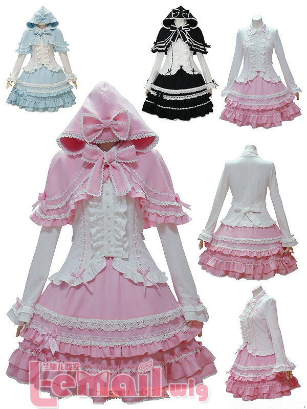 2014 New Promotion   SWEET LOVE LOLITA NEW COSPLAY OUTFITS PARTY MADE EMO   CC62 Free Shipping New  CostumeОдежда и ак�е��уары<br><br><br>Aliexpress