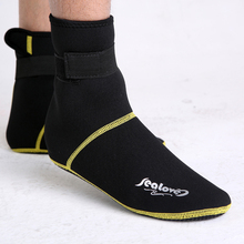 3mm thick antiskid snorkeling shoes non-slip diving socks scuba boot neoprene wetsuit prevent scratches warming swimming seaside(China (Mainland))