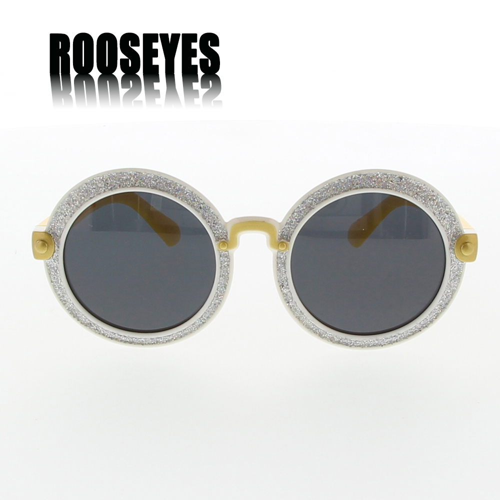 ROOSEYES 2016 Round Baby Sunglasses for Girls Kids Sunglasses Polarized Girl Sun Glasses Baby Girl Sunglasses Cute Sunglasses(China (Mainland))