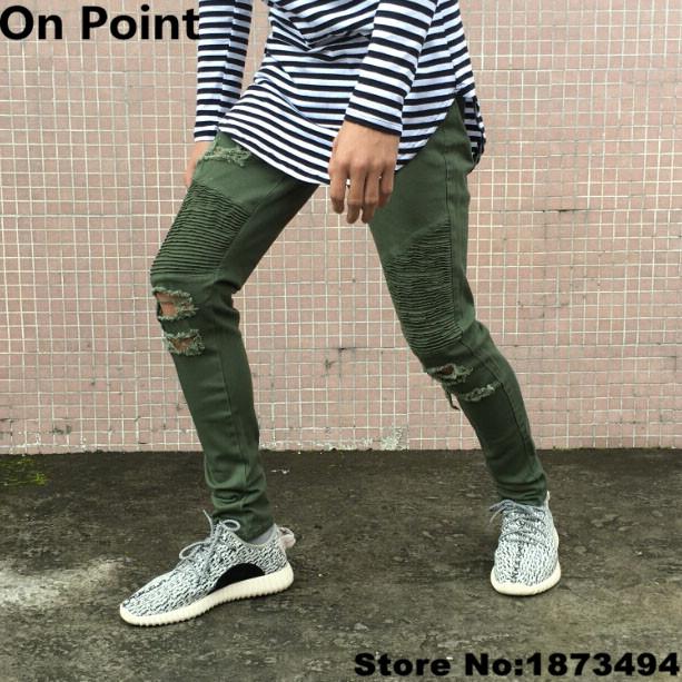 Usa Size 28 40 Mens Biker Jeans Famous Brand Designer