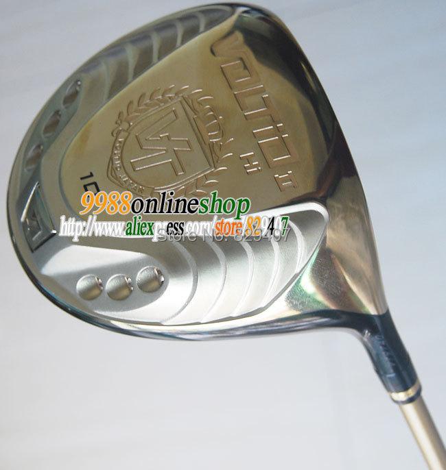 Free Shipping golf driver KATANA VOLTIO HI II Golf clubs driver 10loft golf graphite shaft drivers Club HeadCover Deals Specials(China (Mainland))