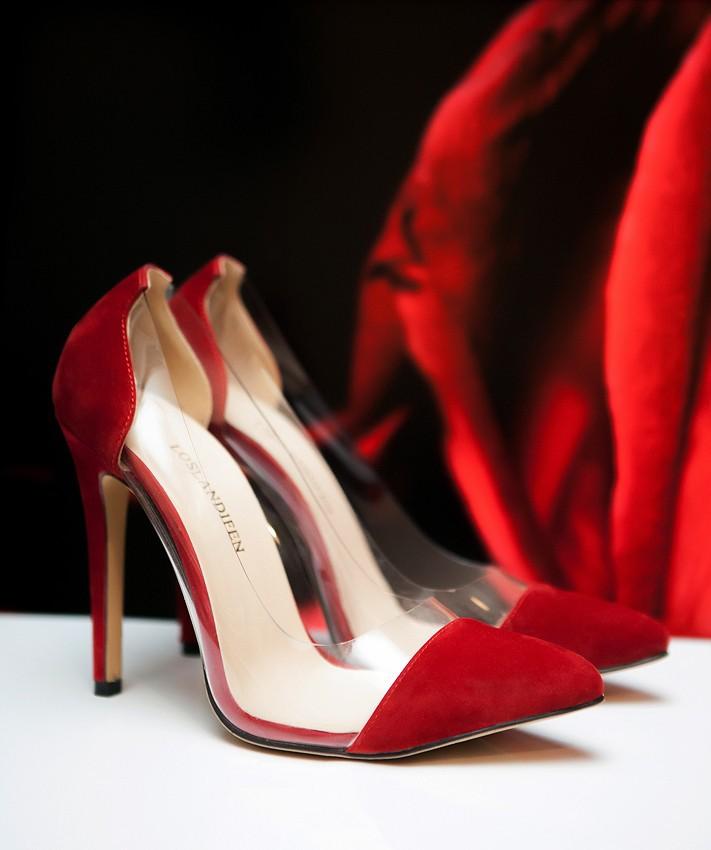 Гаджет  Womens Leather VELVET High Heels Corset Pointed Toe Party Pumps Ladies Wedding Shoes US Size 4-11 302-27VE None Обувь