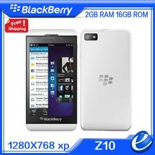 Original Unlocked Blackberry Z10 Dual core GPS WiFi 8.0MP camera 4.2 inch Touch Screen 16G storage cell Phones free shipping(China (Mainland))
