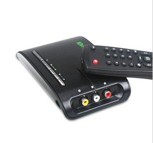 VGA external TV Box Support 28-inch monitor /support LCD and CRT monitor / tv tuner box / tv tuner built-in speaker
