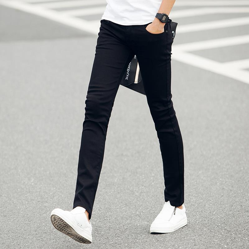black slim pants - Pi Pants