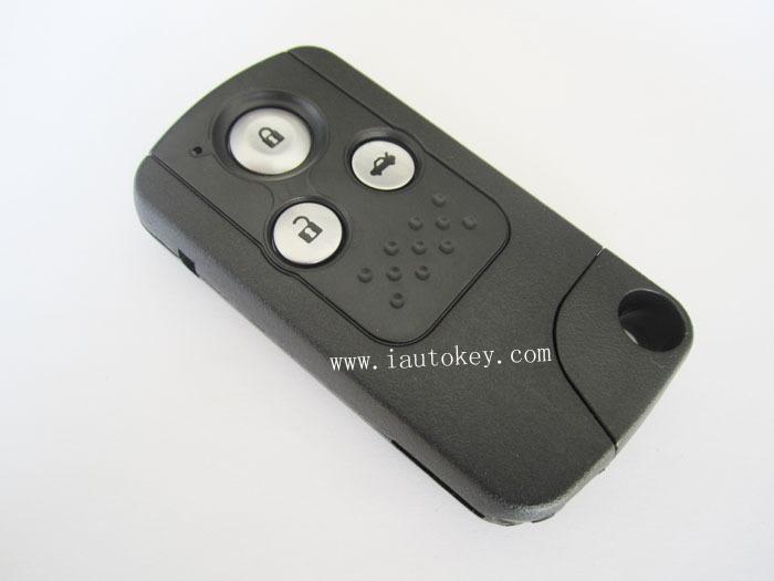 1 pieces/lot Smart remote key shell HON66 3button for Honda(China (Mainland))
